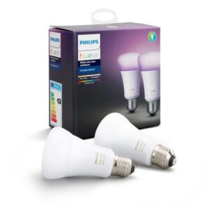 Philips HUE White and Color Ambiance – 10W A19 E27 2 Darab