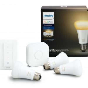 Philips HUE White Ambiance 9.5W A60 E27 Csomag  + Switch