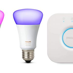 Philips hue E27 RGBW 2DB + Bridge