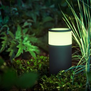 Philips HUE Calla pedestal black 1x8W SELV ext.
