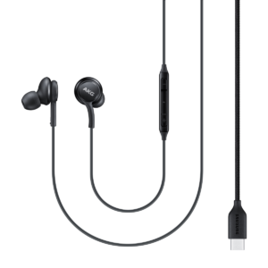 EO-IC100BBEGEU Type-C Earphone (Sound by AKG), Black,