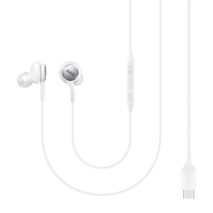 EO-IC100BWEGEU Type-C Earphone (Sound by AKG), White,